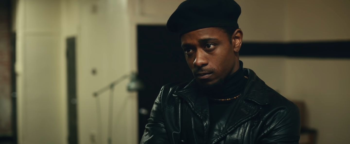 """LaKeith Stanfield looking focused in """"Judas and the Black Messiah"""""""