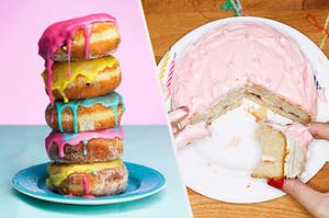 donuts and cake