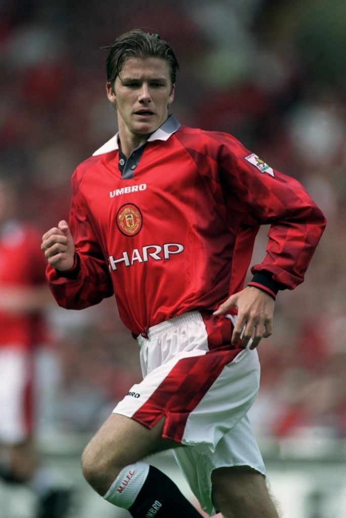 DB playing for manchester united
