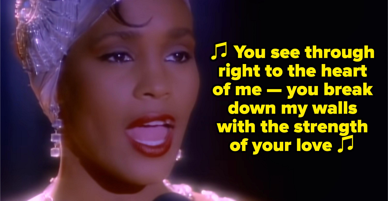 """Whitney Houston singing """"I Have Nothing"""" in """"The Bodyguard"""""""
