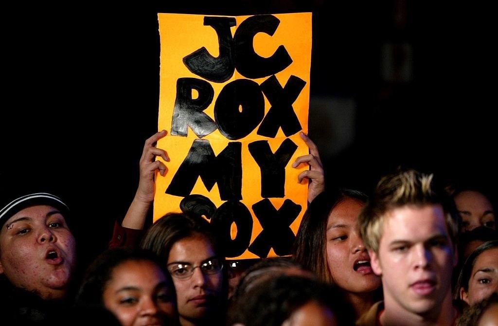 a jc rox my sox sign