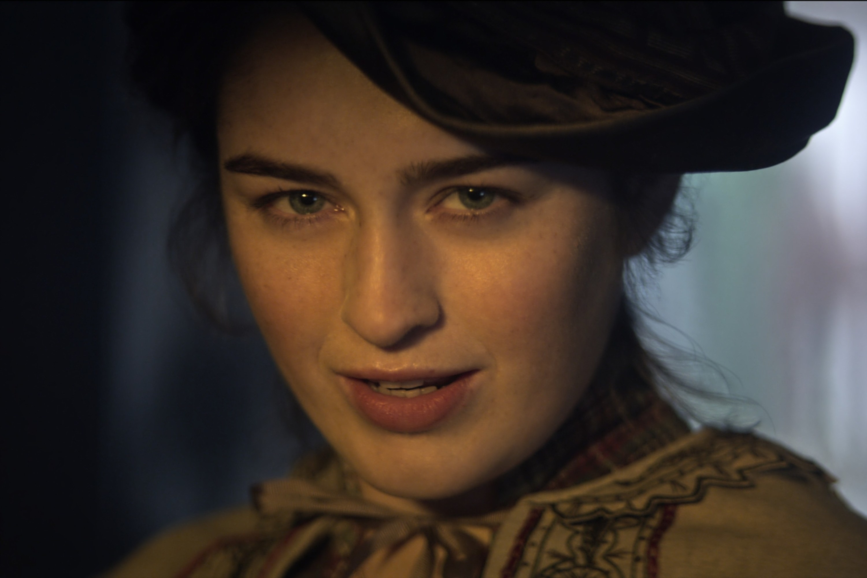 DANIELLE GALLIGAN as NINA ZENIK in SHADOW AND BONE