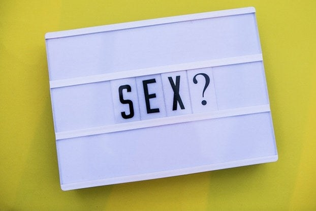 """sign with the word """"sex?"""""""
