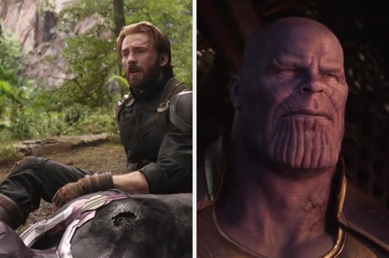 Thanos wins and destroys half the world