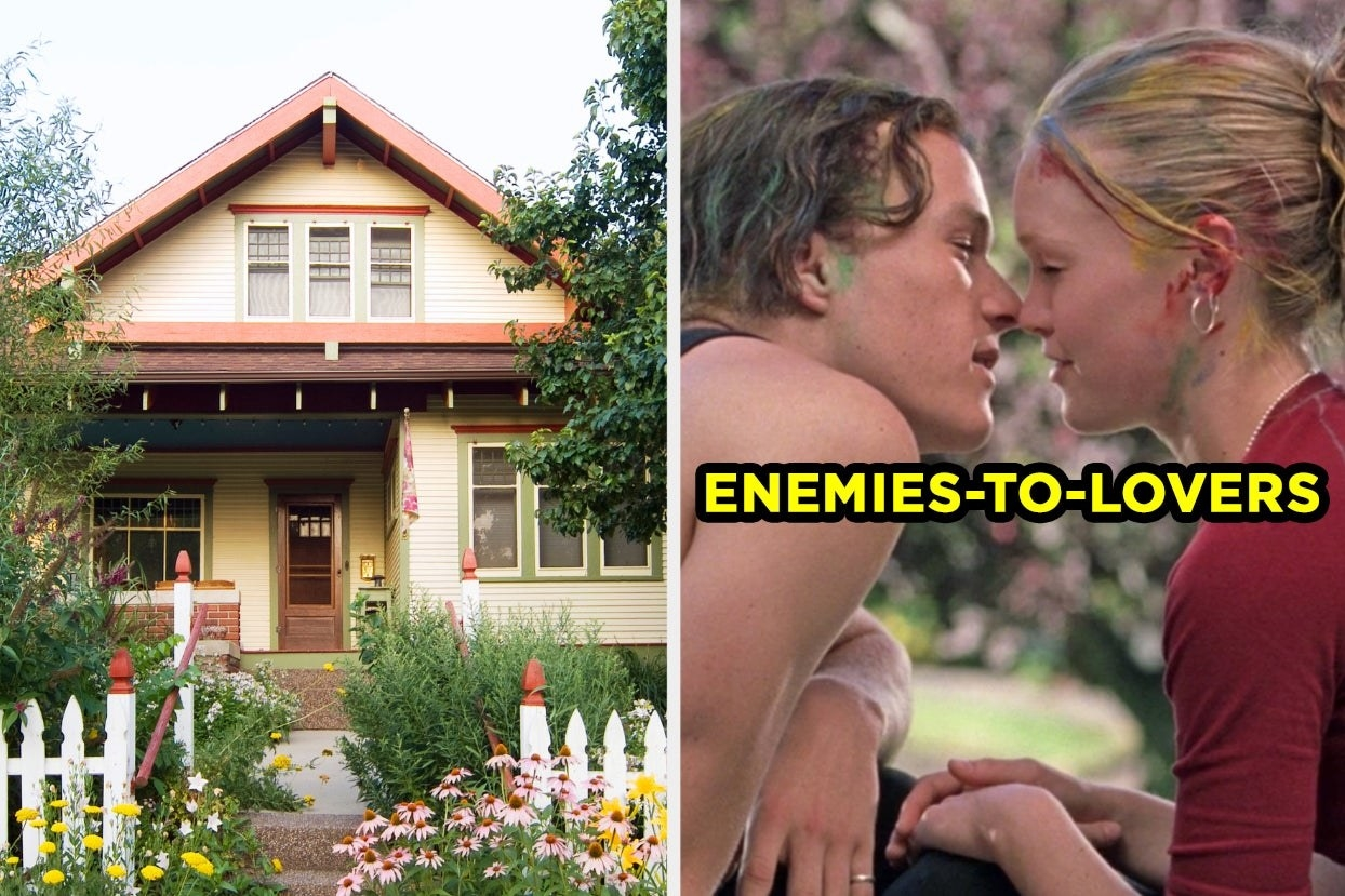 Garden house and enemies-to-lovers trope