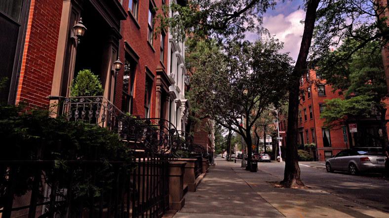 A residential Brooklyn street