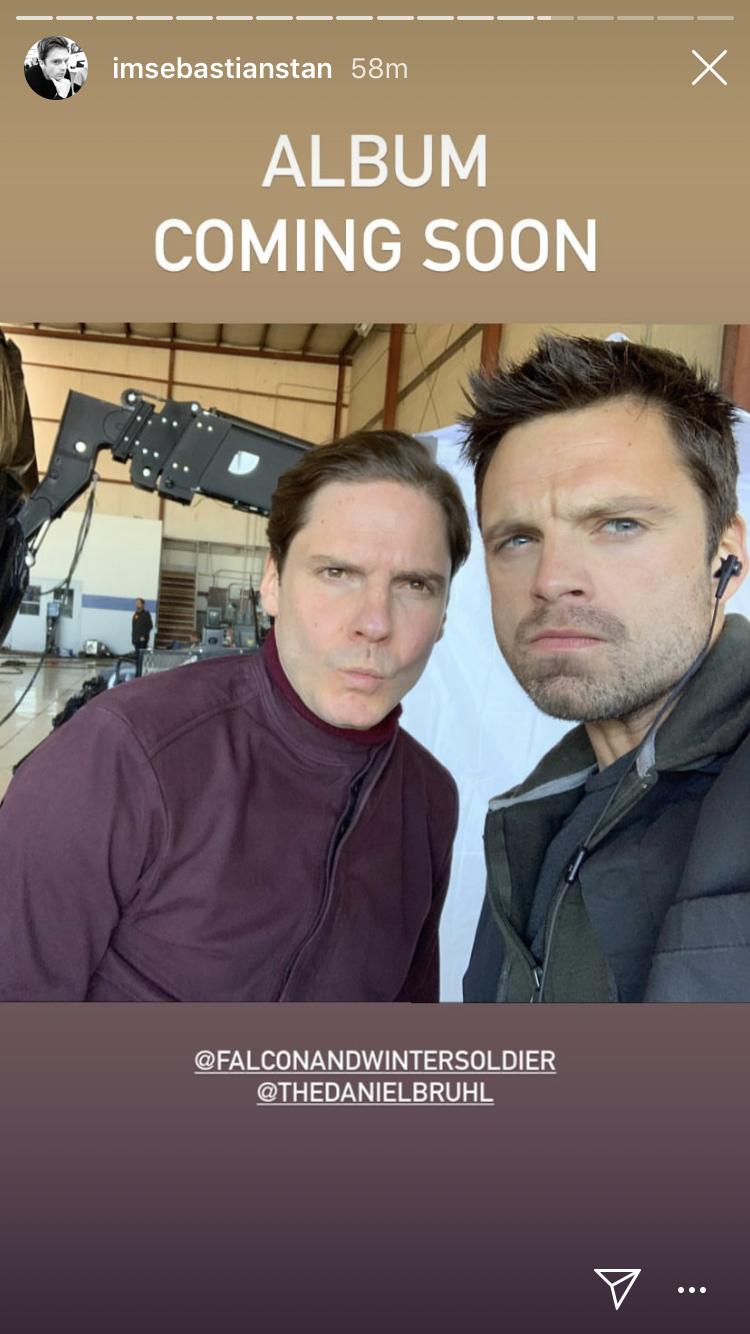 Selfie of Sebastian and Daniel