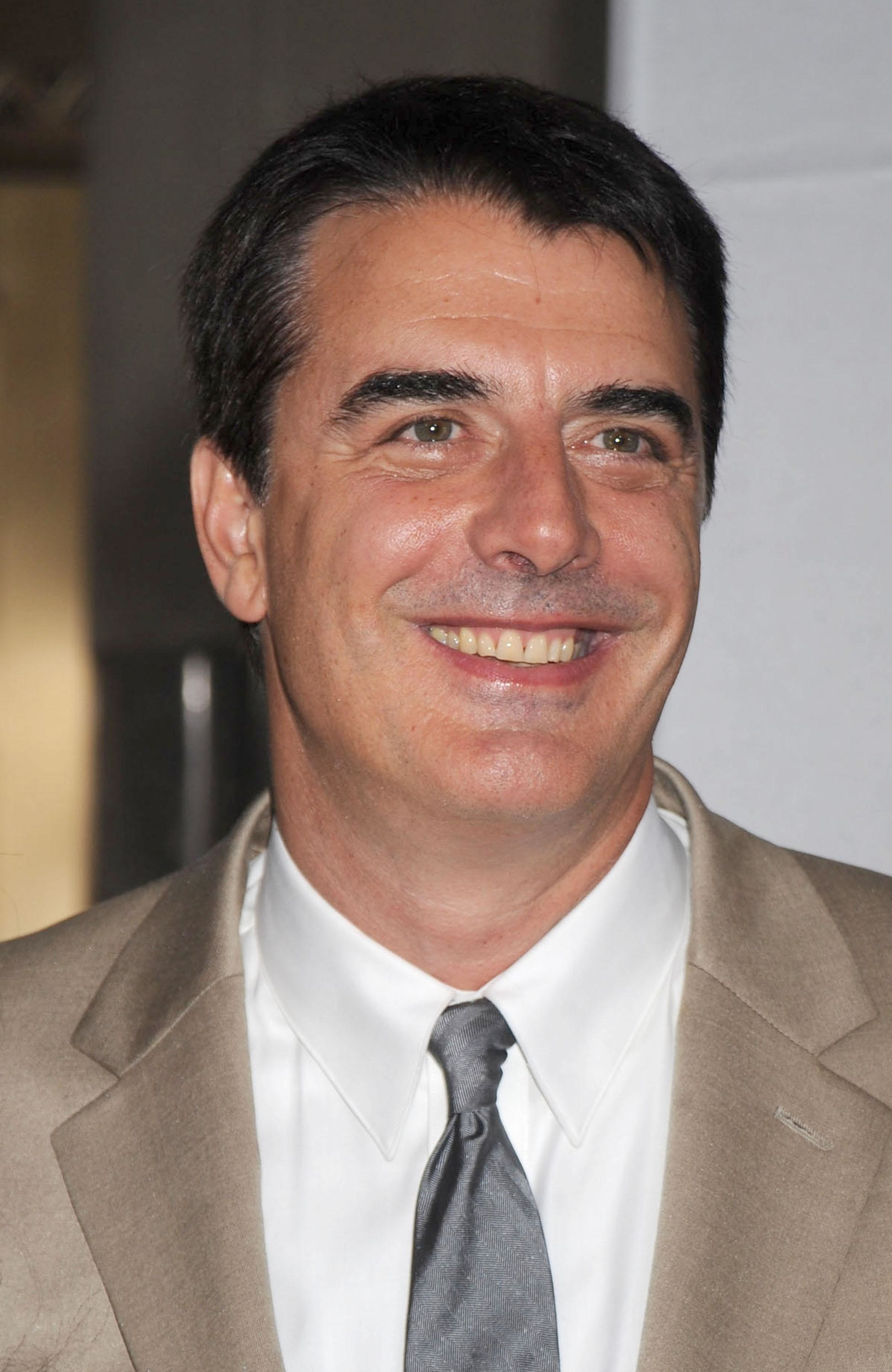Noth at the premiere of Sex and the City in 2008