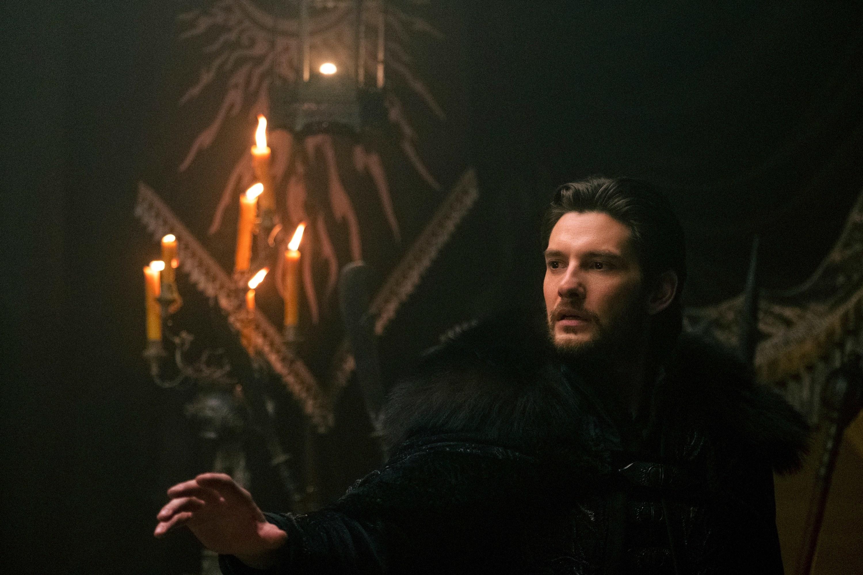 General Kirigan in a fur coat