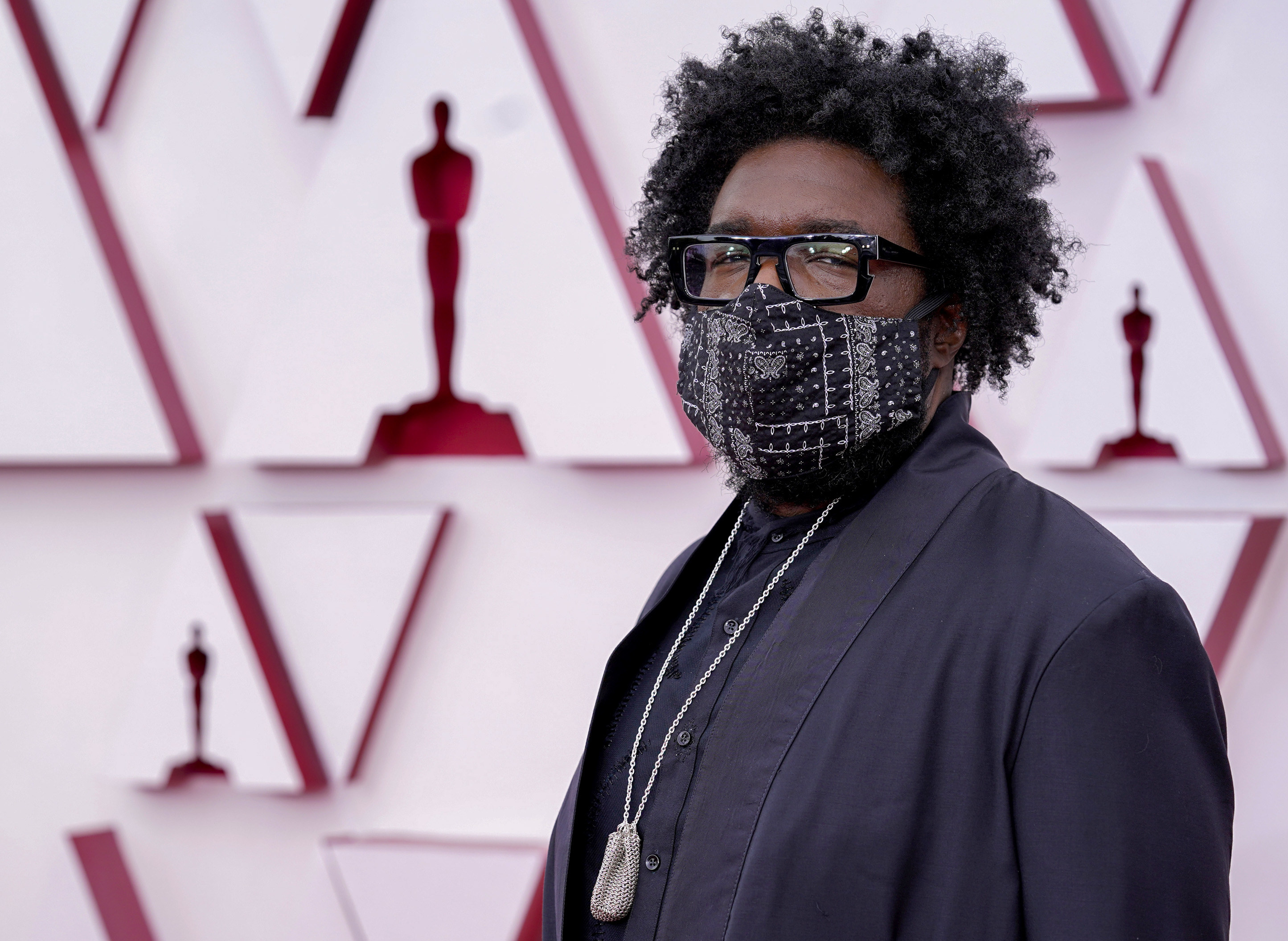 Questlove at the 2021 Academy Awards