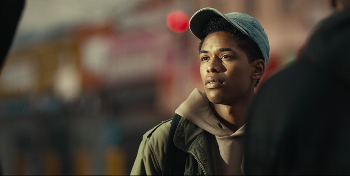 Kelvin Harrison Jr.  as Steve Harmon in the movie titled Monster