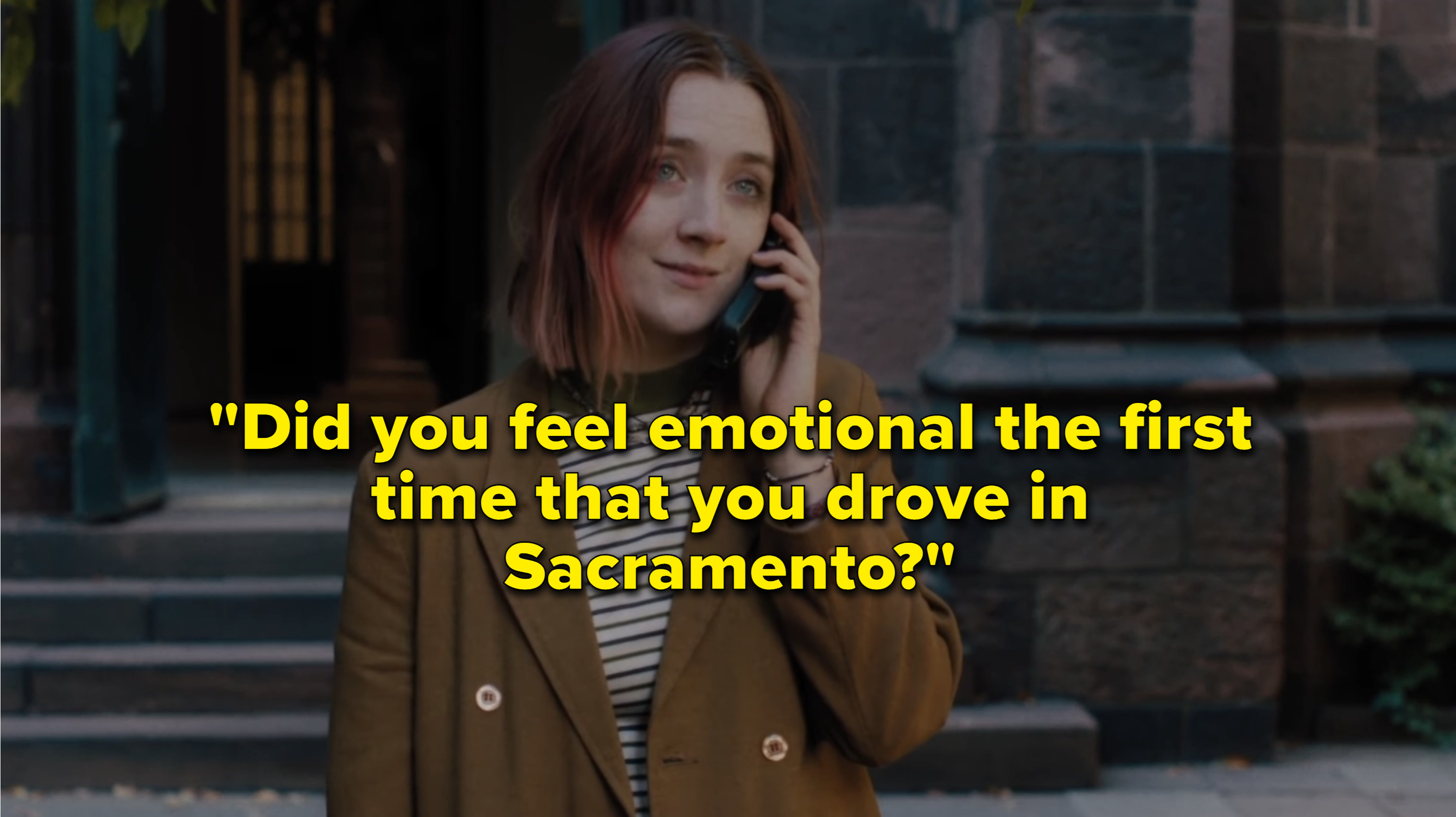 Ladybird leaving her mom a voicemail