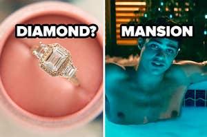 diamond ring? mansion
