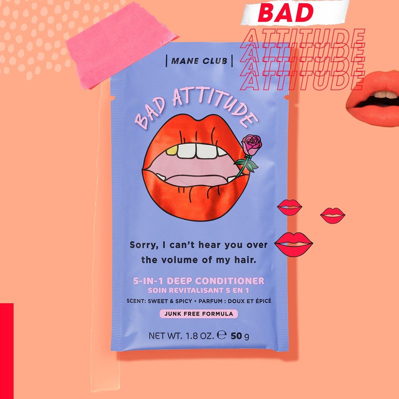 The BAD ATTITUDE Volumizing Hair Mask