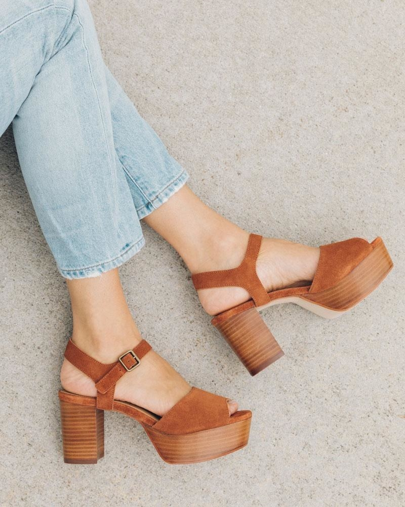 the Avra chunky platform sandal