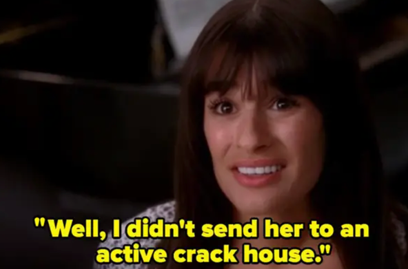 """Rachel: """"Well I didn't send her to an ACTIVE crack house"""""""