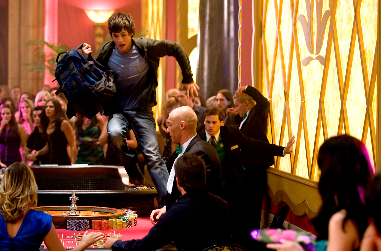 Percy tries to escape the Lotus Casino