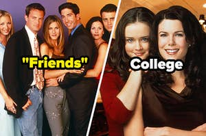 """""""Friends"""" and """"Gilmore Girls"""""""