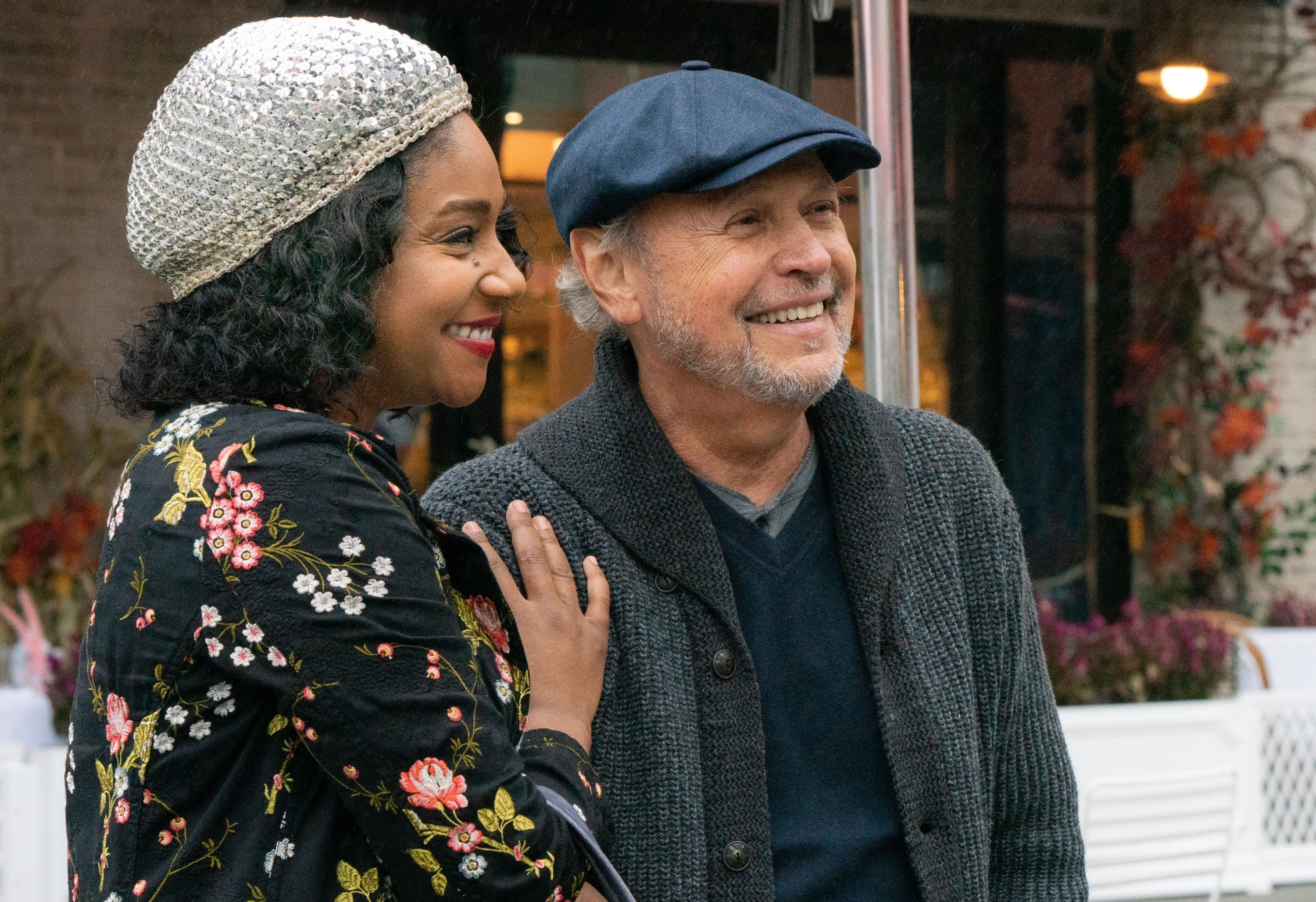 Tiffany Haddish and Billy Crystal