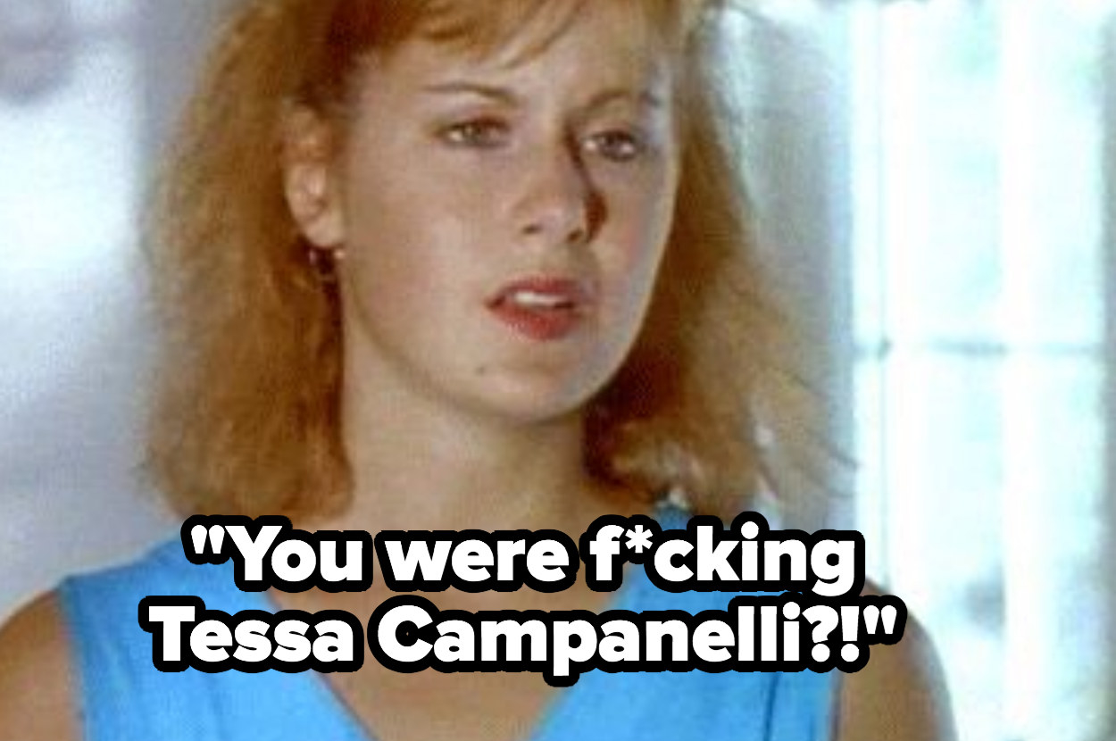 "Caitlin to Joey: ""You were fucking Tessa Campanelli?!"""
