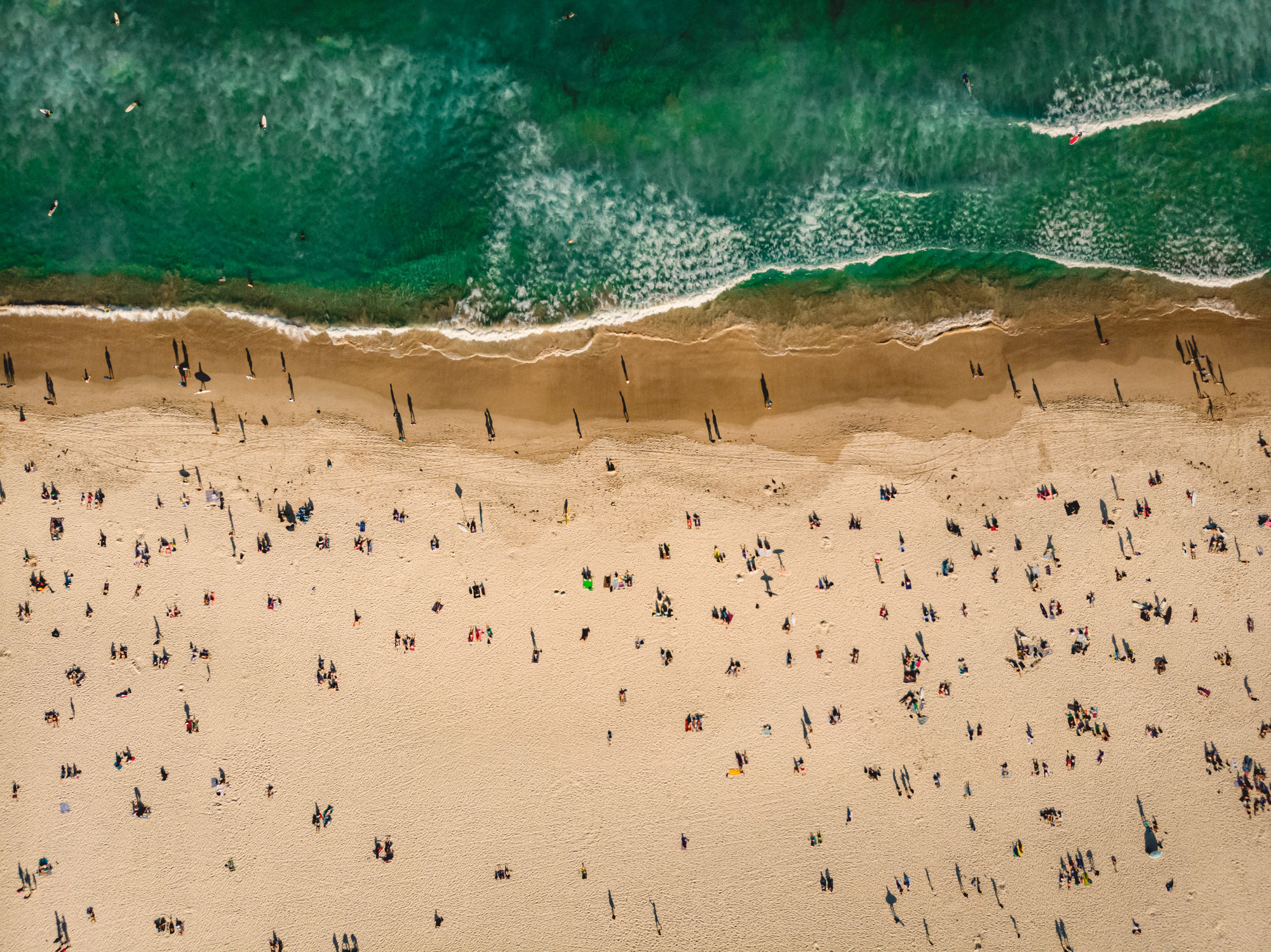 Bondi Beach in Sydney.