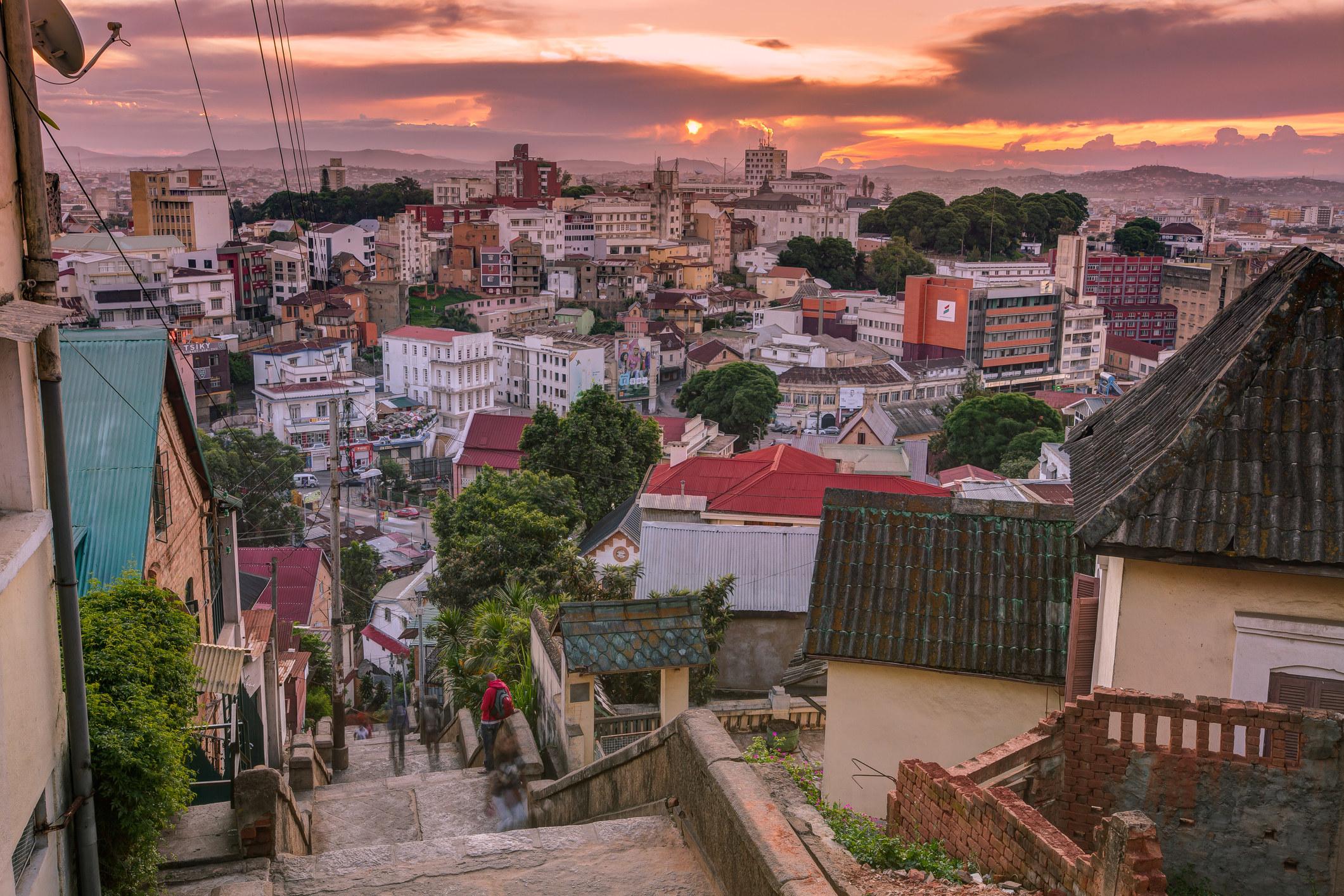 The capital of Madagascar.