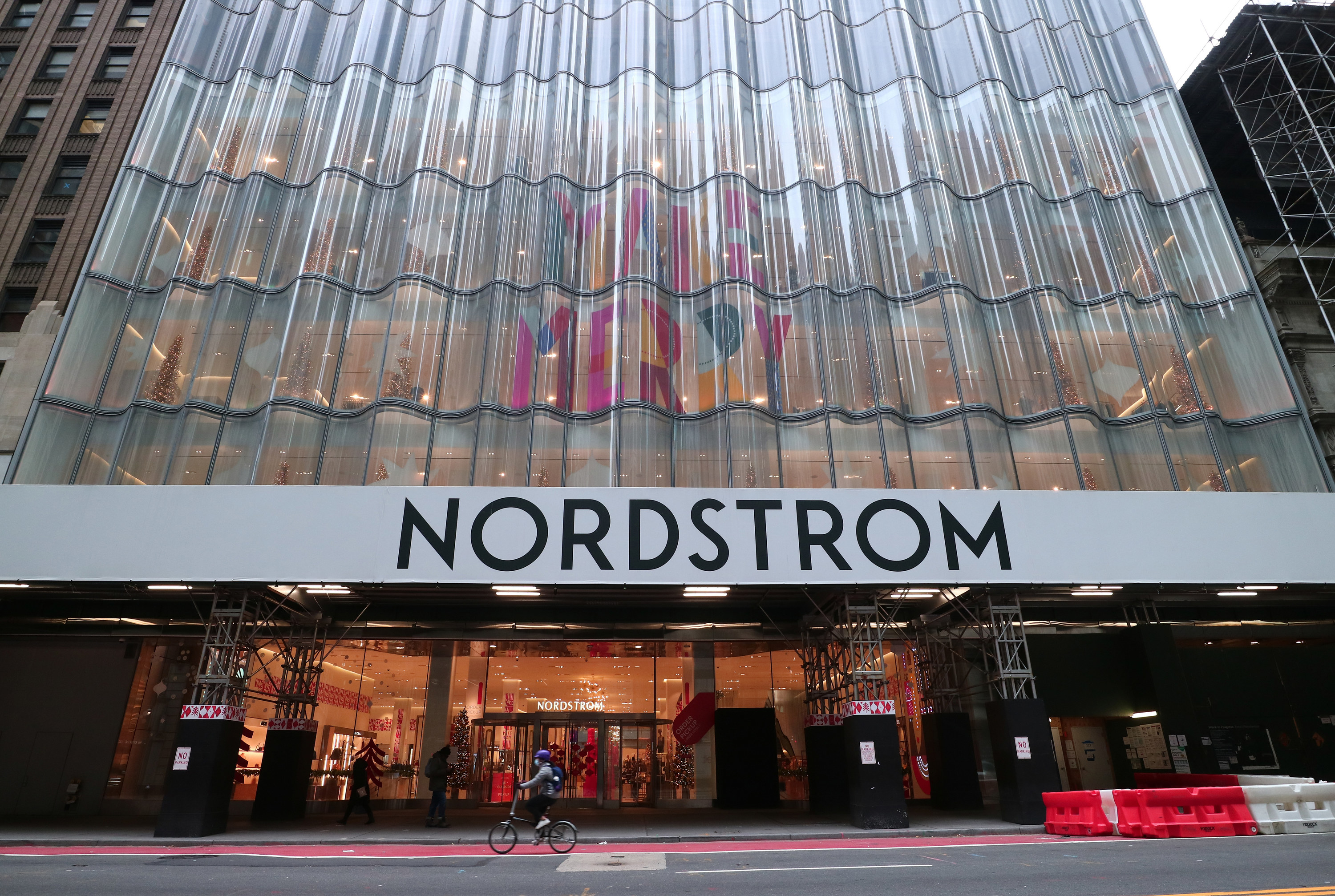 An exterior view of Nordstrom