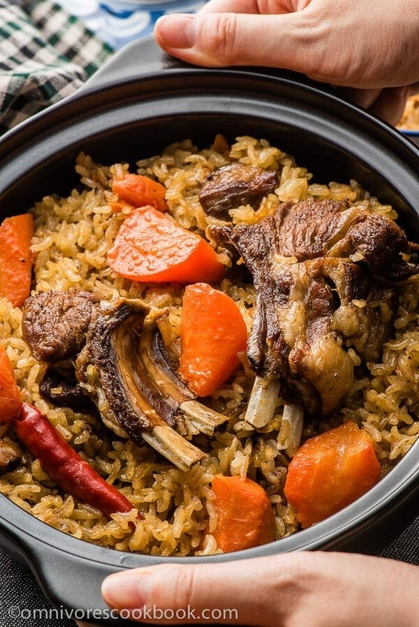 A bowl of polo (pilaf)
