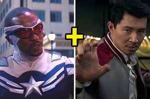 Sam's Captain America plus Shang-Chi