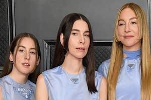 Alana, Danielle, and Este Haim