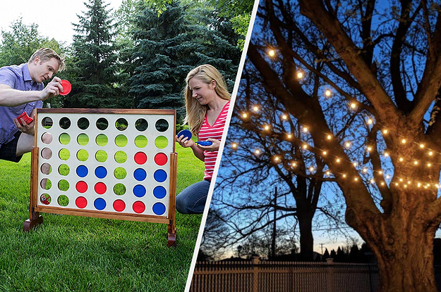 39 Things To Help Make Your Backyard A More Exciting Place To Be