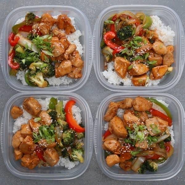 Weekday Meal Prep Chicken Teriyaki Stir-fry