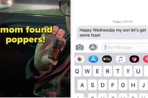 Mom found poppers