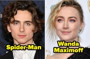 提莫西·查拉梅与《蜘蛛侠》,西尔莎·罗南与《旺达·马克西莫夫》