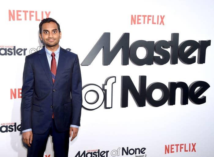 """Aziz Ansari attends the """"Master Of None"""" Season 2 Premiere"""