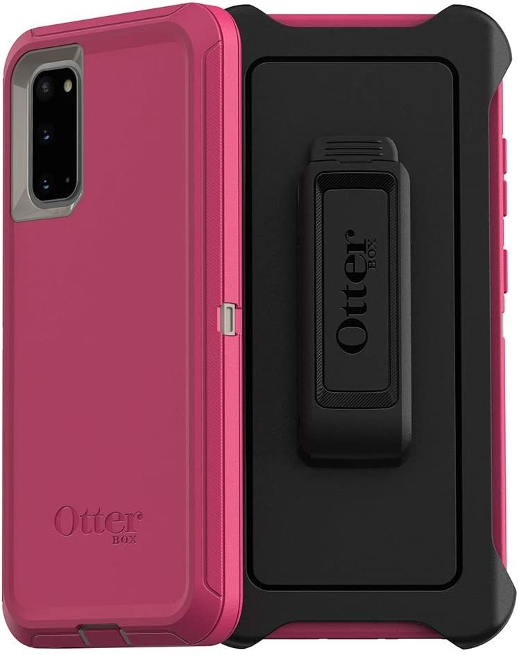 the pink phone case