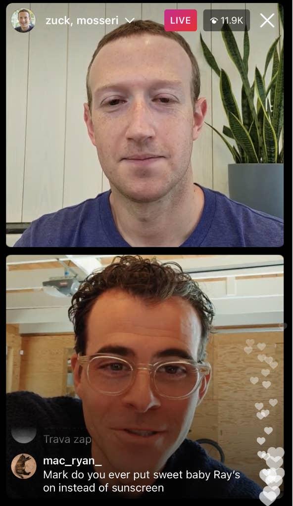 Zuckerberg, <b>Mark Zuckerberg shares the story behind his infamous sunscreen photo</b>