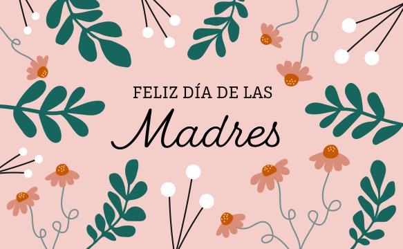 "an amazon e-gift card with the text ""feliz dia del las madres"""