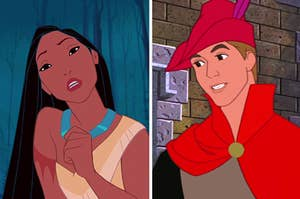 Pocahontas and Prince Phillip