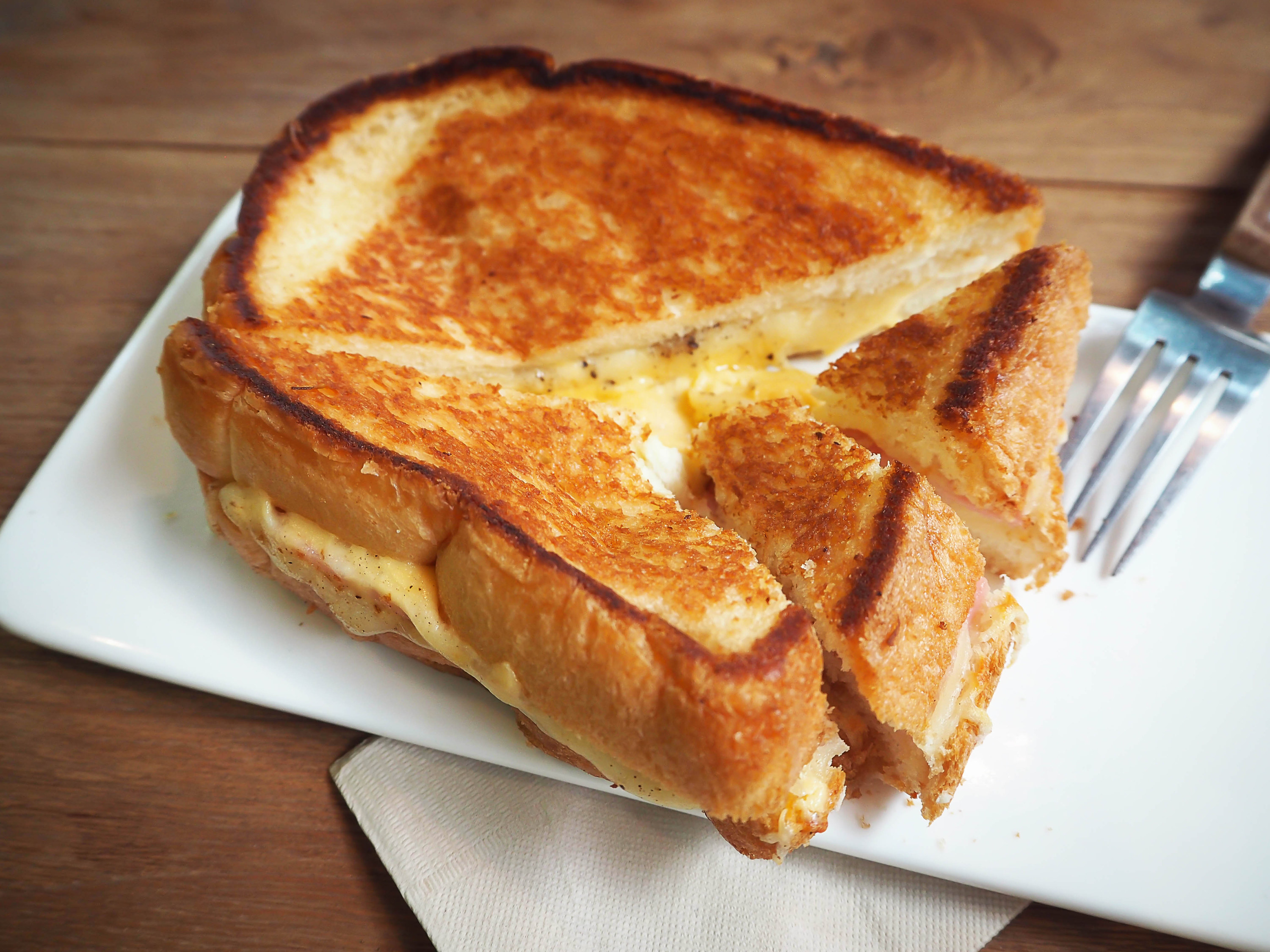 An image of grilled cheese