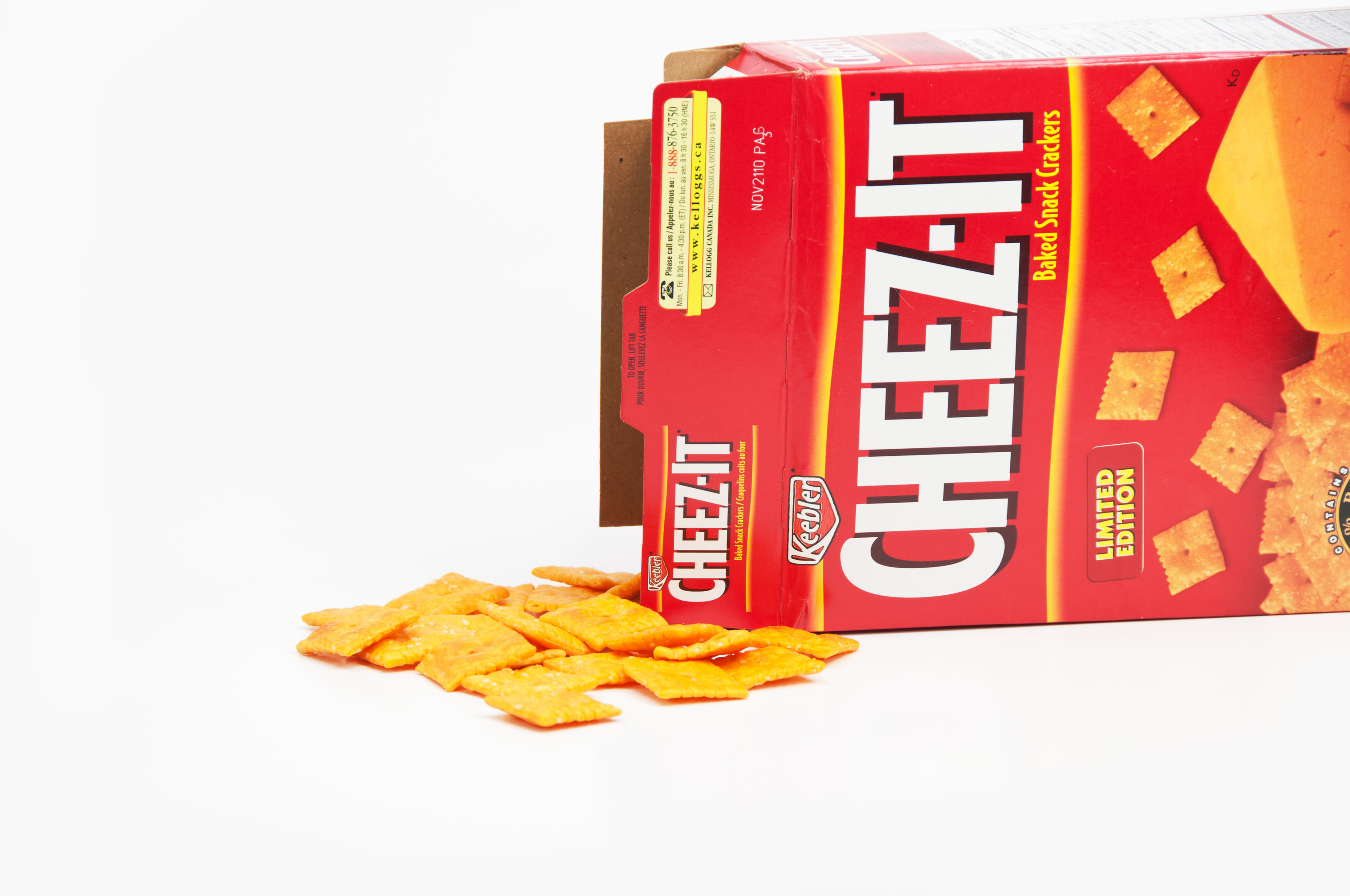 A box of Cheez-Its