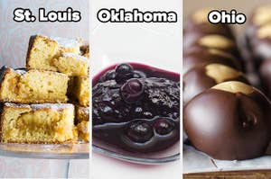 Various US desserts
