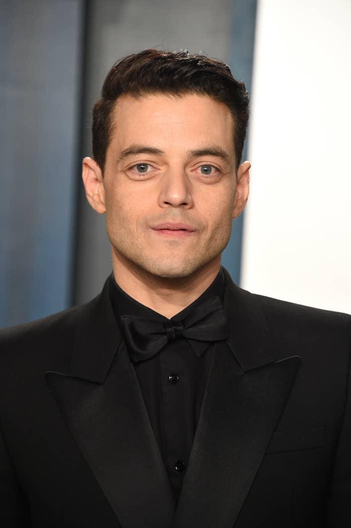 Rami Malek at the 2020 Vanity Fair Oscar Party