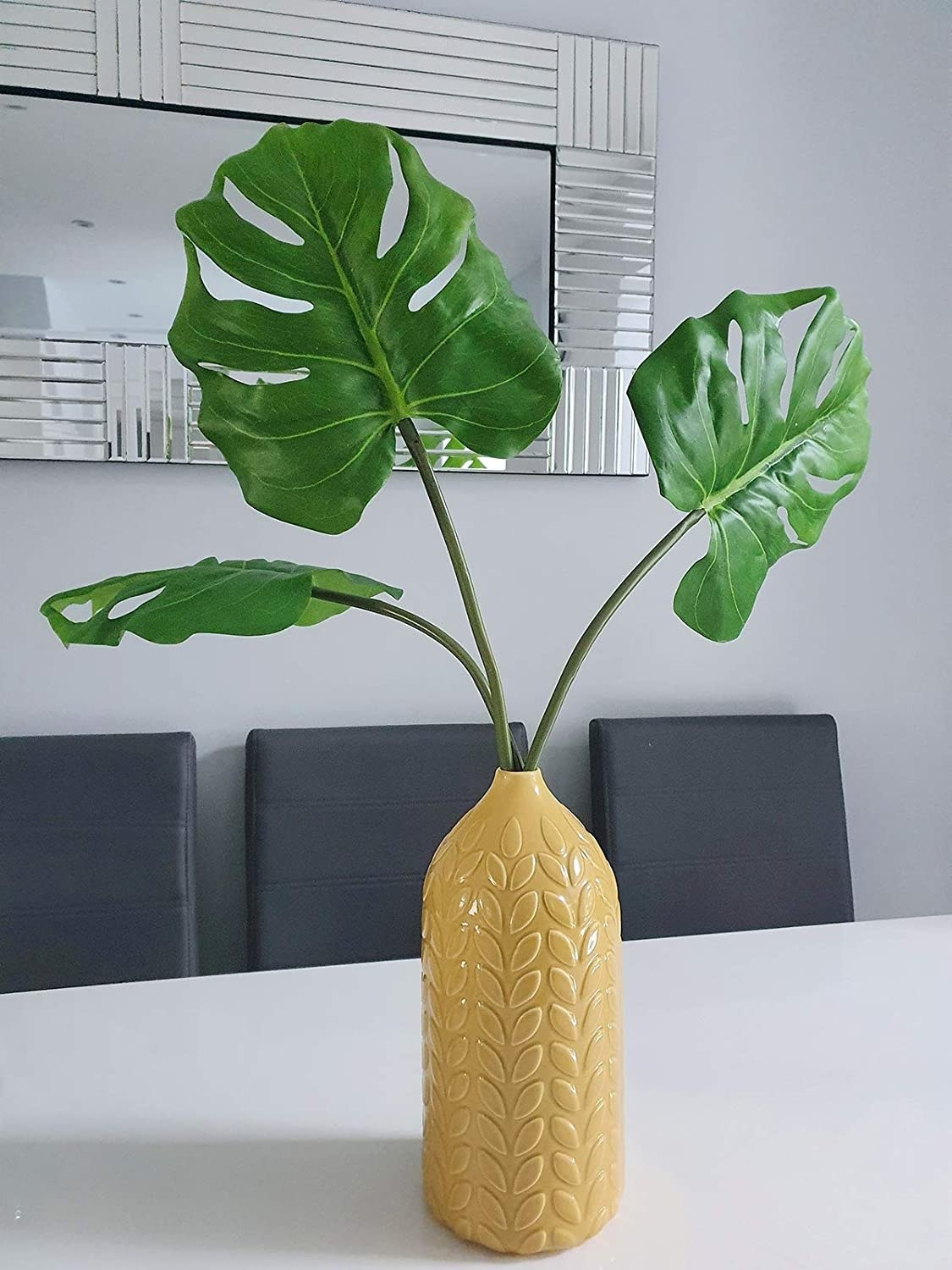 the three fronds in a vase