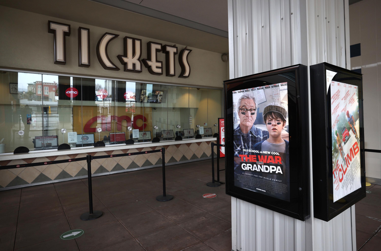 Movie ticket booth