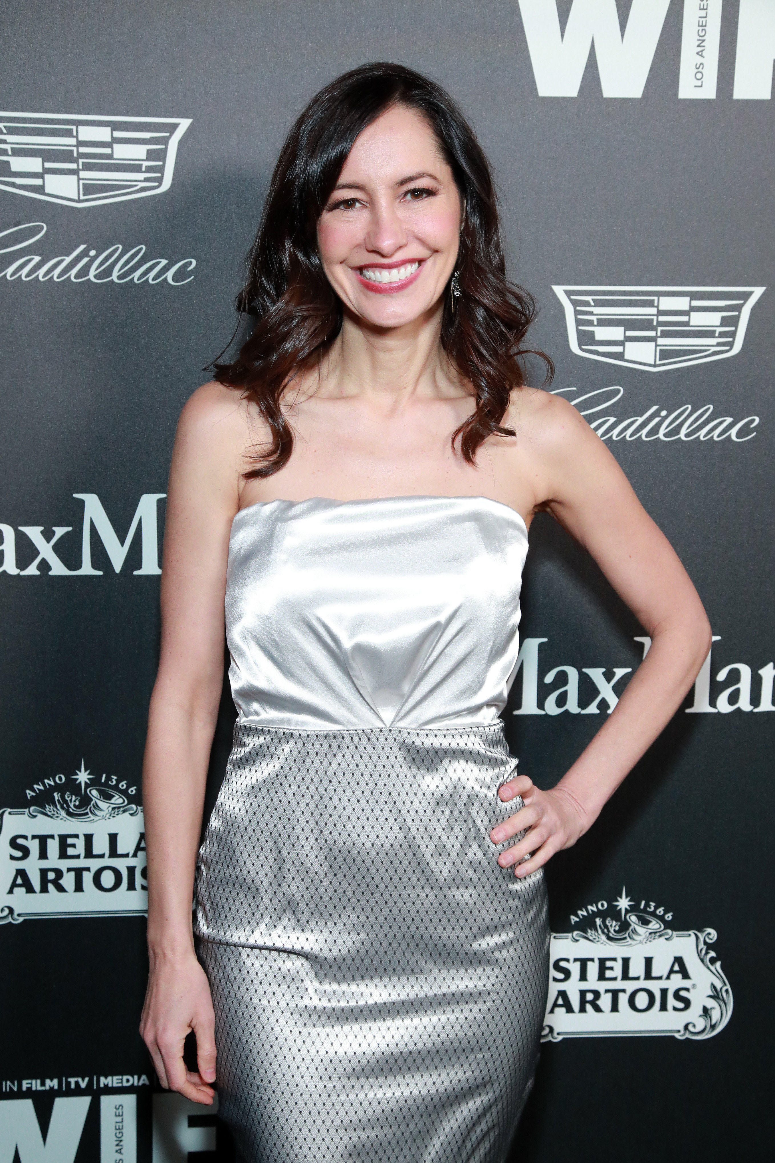 Charlene Amoia on the red carpet