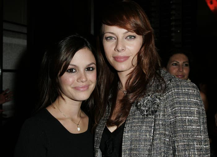 Rachel and Melinda pictured together in the early 2000s