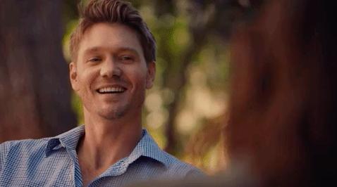 Chad Michael Murray smiling