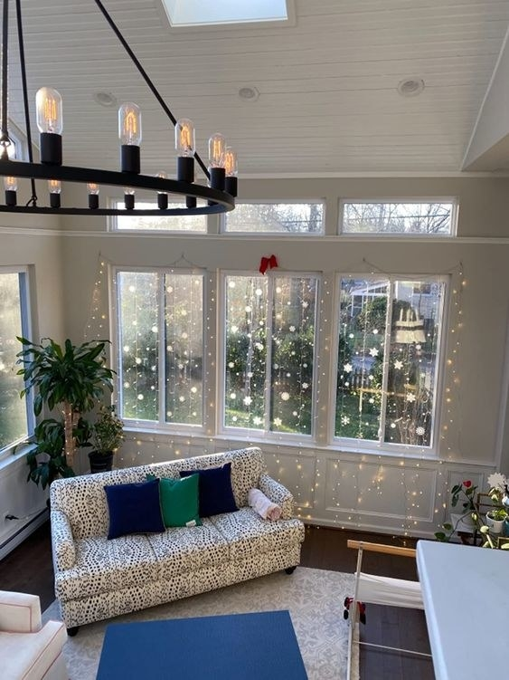 Reviewer's photos of the fairy lights