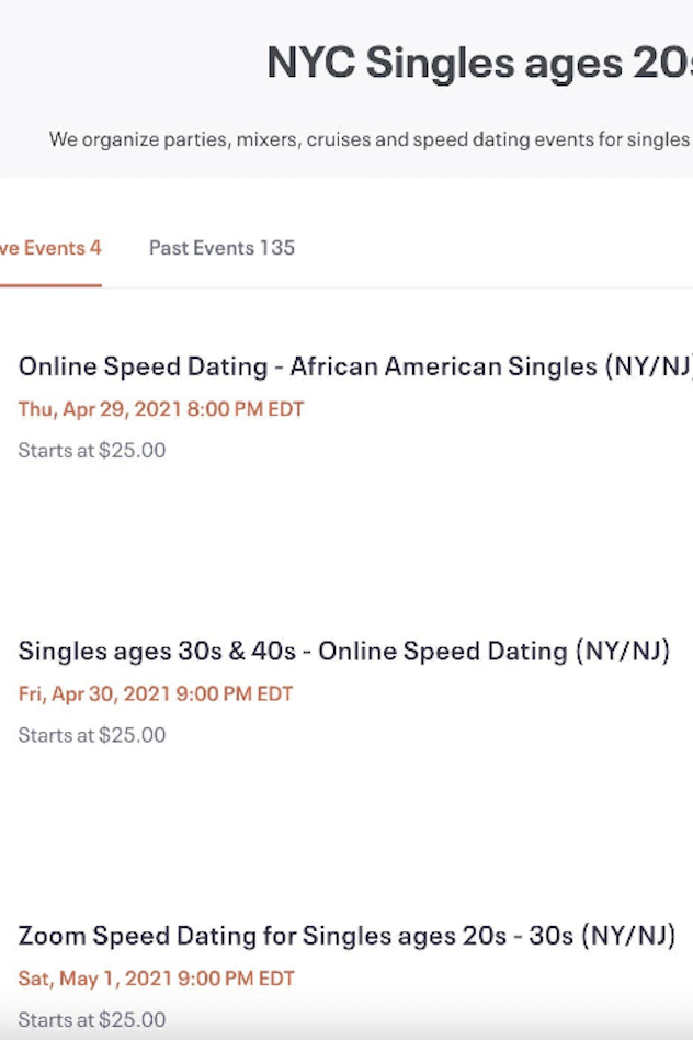 Black speed dating in nyc